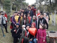 'Oryantiring'de Dünya Kanser Günü il birinciliği yapıldı