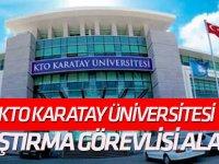 KTO Karatay Üniversitesi araştırma görevlisi alacak