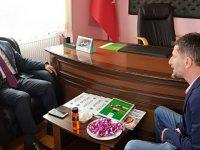 Bozkır Ziraat Odası Başkanı Öztürk'e ziyaretler