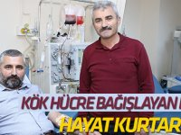 Kök hücre bağışlayan doktor hayat kurtardı