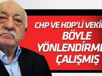 FETÖ'nün CHP ve HDP'li vekilleri yönlendirme çabası ByLock'ta