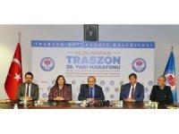 39. Uluslararası Trabzon Yarı Maratonu Pazar günü koşulacak