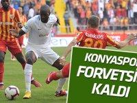 Konyaspor, Kayserispor maçı öncesi forvetsiz kaldı!