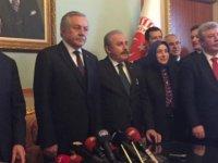 Mustafa Şentop başvurusunu yaptı!