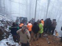 Kesilen ağacın çarptığı orman işçisi hayatını kaybetti