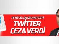 Twitter'dan Nedim Şener'e FETÖ cezası