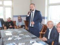 Samancı ve Yaşar'dan mahalle ziyaretleri