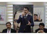 """Bakan Kurum: """"CHP döneminde belediyecilik, milletin hafızalarında çöp, çamur ve çukur belediyeciliği olarak geçmiştir"""""""