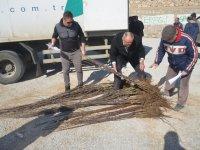 Ereğli'de çiftçilere destek