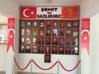 """Bozkır Kaymakamlığı içinde """"Şehit ve Gaziler Köşesi"""" açıldı"""