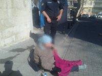 Polis amirinden insanlık örneği
