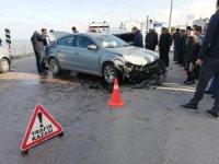 Ordu'da 3 araç birbirine girdi: 5 yaralı