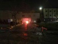 Hastanede çıkan yangın vatandaşları korkuttu