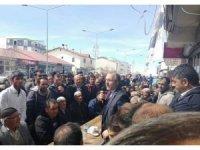 Yavlioğlu, Erzurum'da seçim çalışmalarını sürdürüyor