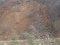 Giresun'da heyelan sonucunda Yağlıdere-Alucra yolu trafiğe kapandı