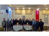 Başkan Asaf Akar 15 yıldır çalıştığı personelleriyle vedalaştı
