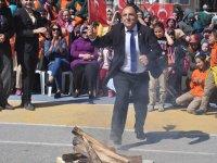 Çumralıoğlu İmam Hatip Ortaokulunda Nevruz Bayramı kutlandı.