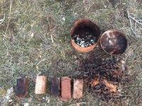Eruh'ta yağ tenekesinde el yapımı patlayıcı bulundu