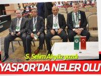 Konyaspor yönetiminde neler oluyor?