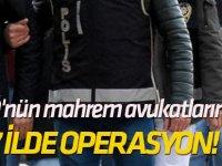 FETÖ'nün mahrem avukatlarına 37 ilde operasyon!