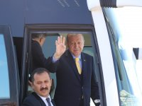 Cumhurbaşkanı Recep Tayyip Erdoğan, Konya'da sevgi seli