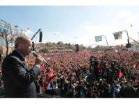 Cumhurbaşkanı Erdoğan: Milletimize yanlış yapan kimse bizim dünyamızda doğru olarak kalamaz