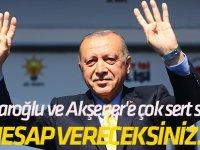 Kılıçdaroğlu ve Akşener'e çok sert sözler!