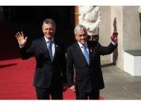 Güney Amerika liderleri Prosur için Şili'de buluştu