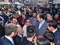 Konevi'den Mevlana'ya yürüyerek Konyalılarla buluştular