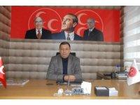"""MHP Van Tuşba İlçe Başkanı  Cancan, """"Dış mihraklara asla fırsat tanımayacağız"""""""
