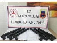 Beyşehir'de jandarmadan silah operasyonu