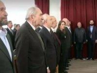 CHP'li Erdem Gül İstiklal Marşı'nı okumadı...