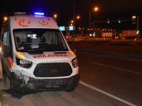 Malatya'da ambulans ile otomobil çarpıştı: 5 yaralı