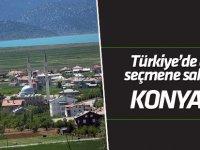 Türkiye'nin en az seçmene sahip ilçesi Konya Yalıhüyük