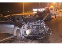 D-100 karayolunda trafik kazası: 1'i polis 3 kişi yaralı