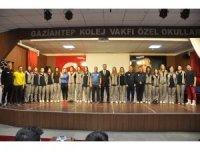 GKV'liler Merinos'un şampiyon bayan voleybol takımını ağırladı