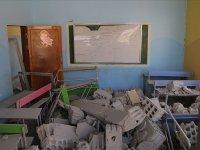 Esed rejimi İdlib'de okulu vurdu