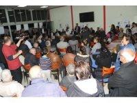 Özdemir, Kuşlubahçe'de 'Seni başkan yapacağız' sloganlarıyla karşılandı