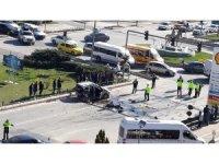 Eskişehir'de feci kaza, 15 yaralı