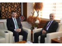 Vali Ayhan, Belediye Başkanı Aydın'a veda ziyaretinde bulundu