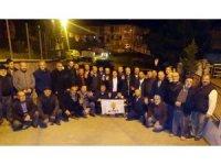 Alaplı'da 25 kişi AK Parti'ye katıldı