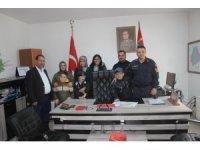 Otizmli öğrenciler askerleri ziyaret etti