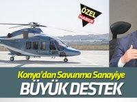 Konya'dan savunma sanayine büyük destek