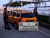 Çanakkale'de 5 mülteci yakalandı