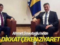 Yeni Parti Kuracağı Konuşulan Ahmet Davutoğlu'ndan Dikkat Çeken Ziyaret