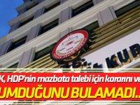 YSK, HDP'nin mazbata talebi için kararını verdi!