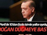 Erdoğan düğmeye bastı... AK Parti'de 10'dan fazla isimle yollar ayrılıyor!