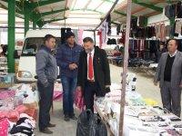 Başkan Ayten pazarcı esnafıyla buluştu