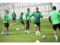 Atiker Konyaspor, MKE Ankaragücü maçı hazırlıklarını sürdürüyor