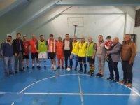 Futsalda 40 yıllık örnek birlikteliğe ASKF'den madalyalı tebrik
